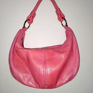 Bubblegum Pink Hobo Bag